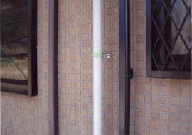 雨樋い塗装着工前